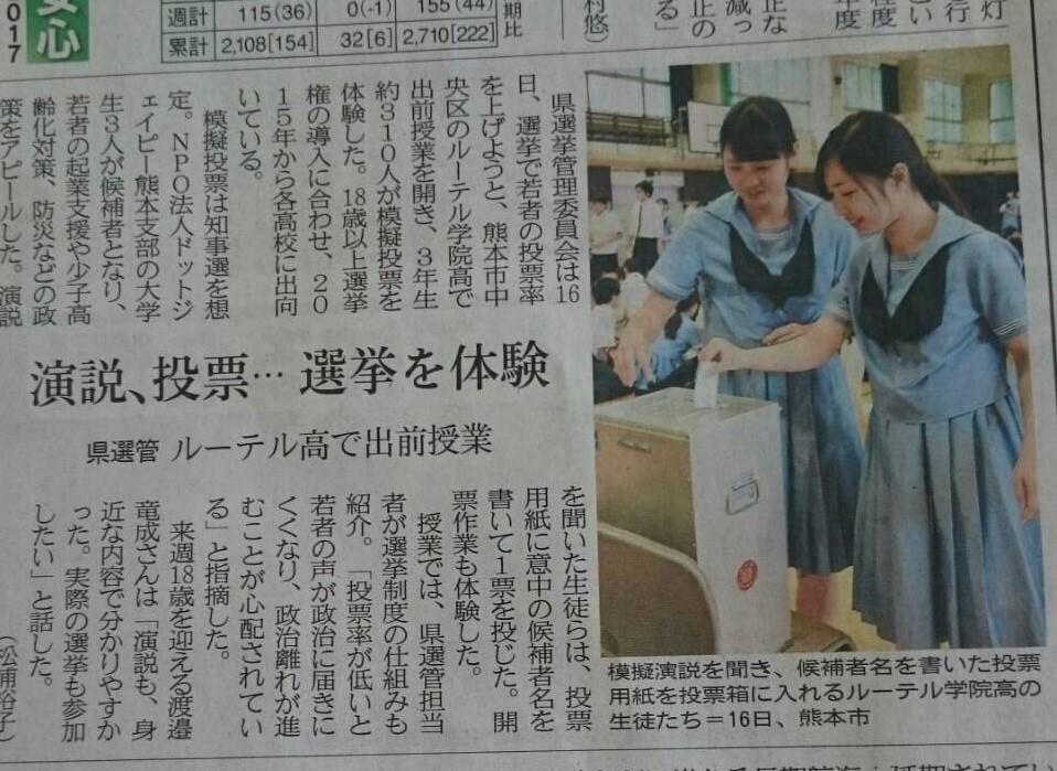 掲載写真@熊日新聞